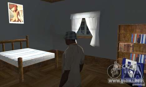 Nuevas casas de seguridad interiores para GTA San Andreas séptima pantalla