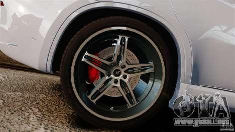 BMW X6 Hamann Evo22 no Carbon para GTA 4 vista interior