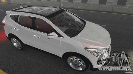 Hyundai Santa Fe Sport 2013 para GTA 4 vista desde abajo