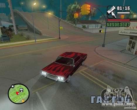 Nuevos iconos de mapa para GTA San Andreas segunda pantalla