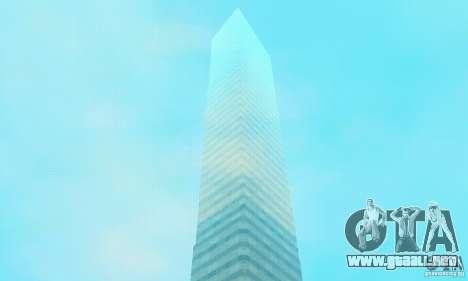 Isla (mes en el agua) para GTA San Andreas sucesivamente de pantalla