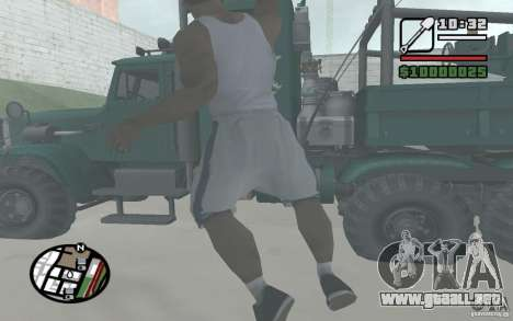 Tirando palas para GTA San Andreas sucesivamente de pantalla