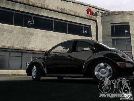 Volkswagen Beetle para GTA 4 Vista posterior izquierda