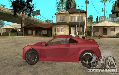 Mastretta MXT para GTA San Andreas left