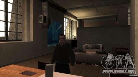 Casero suéter con cuello para GTA 4 tercera pantalla
