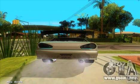 Elegy for the clan GSD para GTA San Andreas vista posterior izquierda