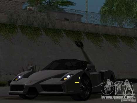 Ferrari Enzo Novitec V1 para GTA San Andreas vista hacia atrás