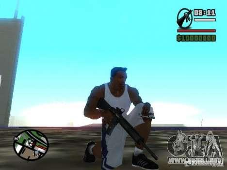 Gangster Weapon Pack para GTA San Andreas