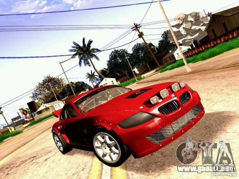 BMW Z4 Rally Cross para GTA San Andreas