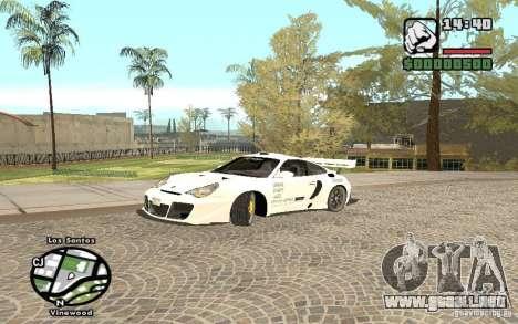 Porsche 911 Turbo S Tuned para GTA San Andreas