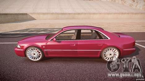 Audi A8 6.0 W12 Quattro (D2) 2002 para GTA 4 left