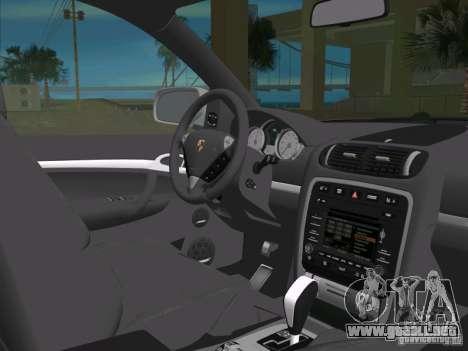 Porsche Cayenne Turbo S para GTA Vice City vista lateral
