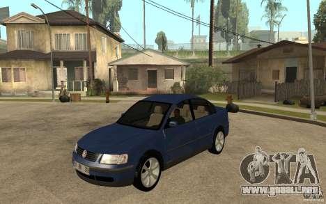 VW Passat B5 1.8T para GTA San Andreas