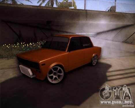 2106 VAZ deriva para GTA San Andreas