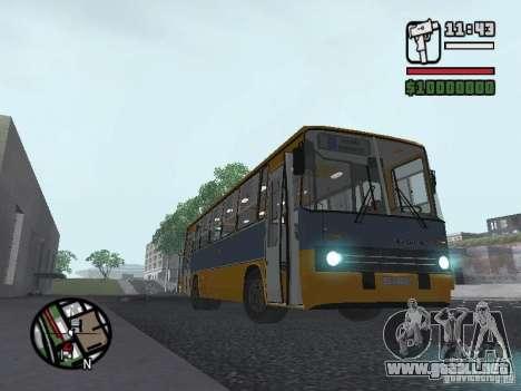 Ikarus 263 para la visión correcta GTA San Andreas