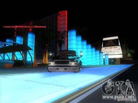 GMC C4500 Pickup DUB Style para la vista superior GTA San Andreas