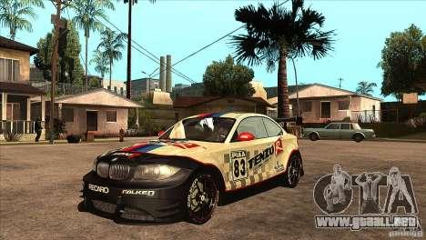 BMW 135i Coupe GP Edition Skin 1 para GTA San Andreas