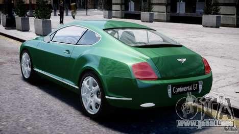 Bentley Continental GT para GTA 4 visión correcta
