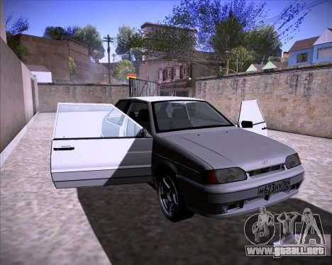 Lada Samara 2113 para GTA San Andreas vista posterior izquierda