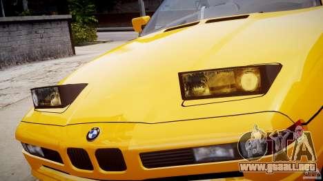 BMW 850i E31 1989-1994 para GTA motor 4