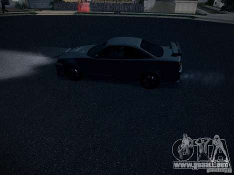 Nissan Skyline Z-Tune para vista lateral GTA San Andreas