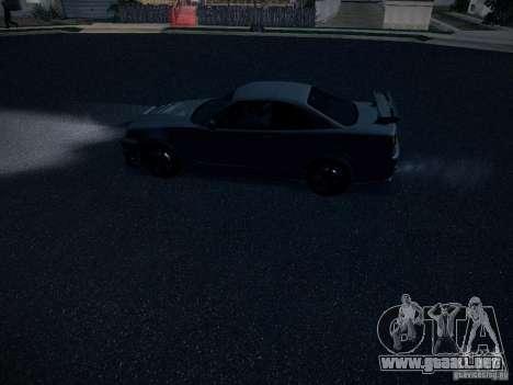 Nissan Skyline Z-Tune para vista lateral GTA San Andreas