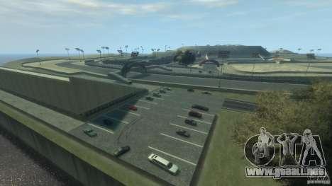 Laguna Seca v1.2 para GTA 4 adelante de pantalla