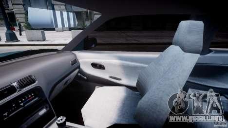 Nissan 240sx v1.0 para GTA 4 vista hacia atrás