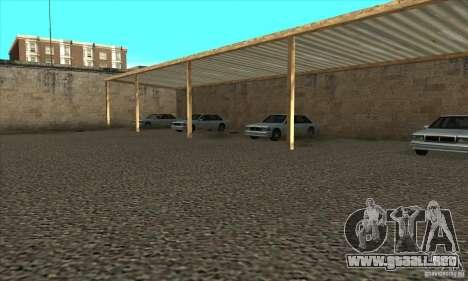 Renovación de autoescuelas en San Fierro para GTA San Andreas quinta pantalla