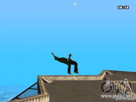 Parkour Mod para GTA San Andreas tercera pantalla