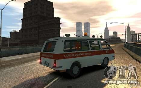 RAF 2203 ambulancia para GTA 4 left