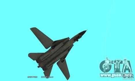 F14W Super Weirdest Tomcat Skin 2 para visión interna GTA San Andreas