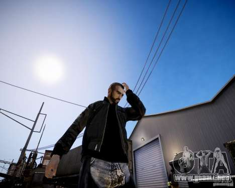 Niko - Hooligan para GTA 4 segundos de pantalla