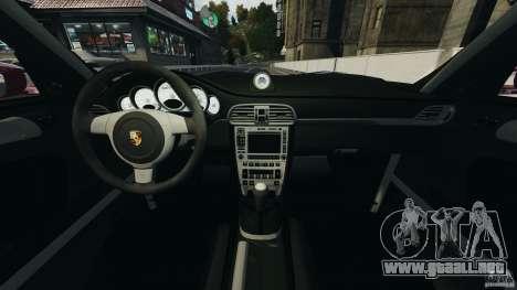 Porsche 997 GT2 Body Kit 1 para GTA 4 vista hacia atrás
