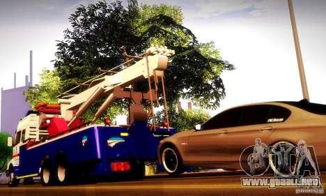 Volvo NH12 Towtruck para visión interna GTA San Andreas