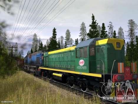 Tem2um-248 + Gondola freight company para GTA San Andreas vista posterior izquierda
