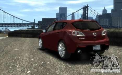 Mazda Speed 3 2010 para GTA 4 left