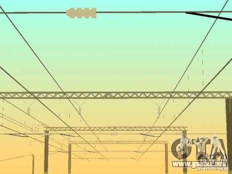 Soporte de red de contactos v. 2 para GTA San Andreas tercera pantalla