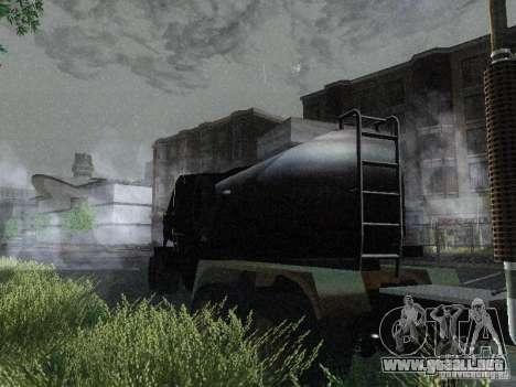 Remolque blindado combustible Mack Truck Titan para GTA San Andreas