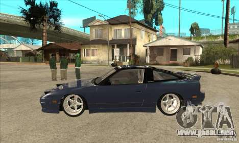Nissan 180SX Turbo JDM para GTA San Andreas left