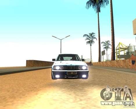 BMW 525i E34 para GTA San Andreas left