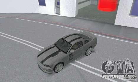 Saleen S281 Pack 2 para GTA San Andreas vista hacia atrás