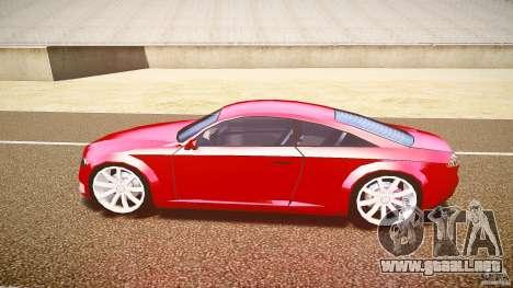 Audi Nuvollari Quattro para GTA 4 Vista posterior izquierda