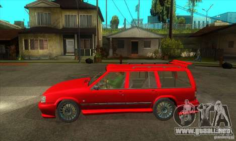 Volvo 945 Wentworth R with bodykit (1.2) para GTA San Andreas left