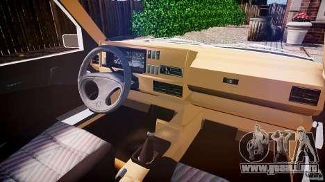 Volkswagen Jetta MKII VR6 para GTA 4 visión correcta