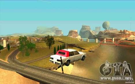 Avtolët para la visión correcta GTA San Andreas