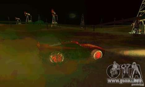 MCQUEEN from Cars para la vista superior GTA San Andreas