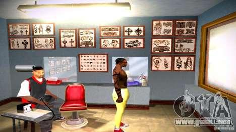 Tres nuevo tatuaje para GTA San Andreas twelth pantalla
