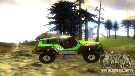Raptor para la visión correcta GTA San Andreas