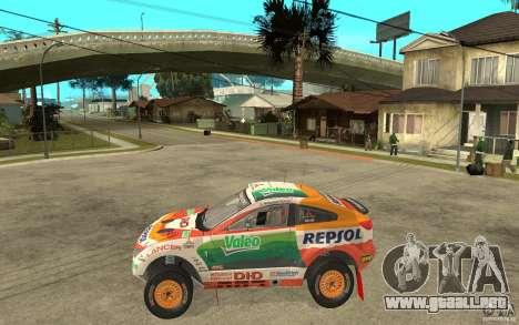 Mitsubishi Racing Lancer para GTA San Andreas left